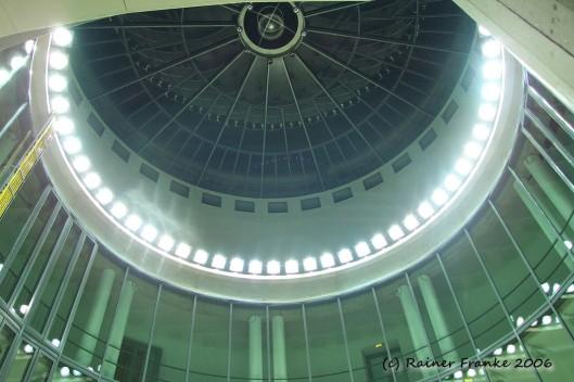 Frankfurter Schirn - Lichtinstallation