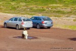 Parkplatztoilette auf Island