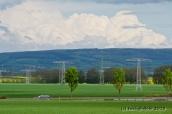 Wolken über dem Ettersberg