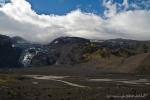 Lagune am Eyjafjallajökull