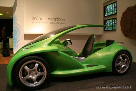 Grüner Superflitzer
