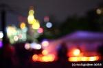 Sommerwerft - Beduinenzelt vorn - Skyline hinten