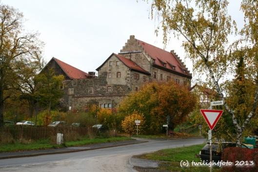 Burg Fürsteneck oberhalb der Milchstraße