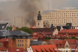 Feuer in Erfurt (2006)