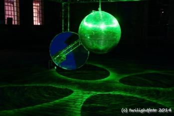 Luminale 2012 - OF Heyne-Fabrik - Lichtinstallation