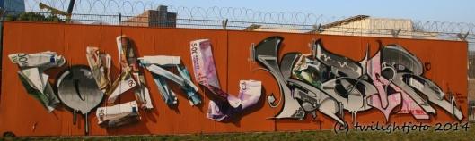 Geld an der Wand