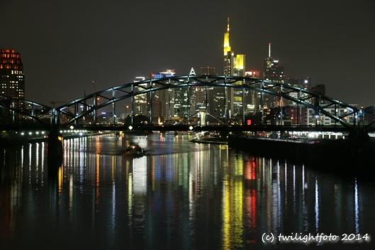Nacht-Skyline Frankfurt