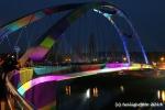 Luminale 2014 - Osthafenbrücke