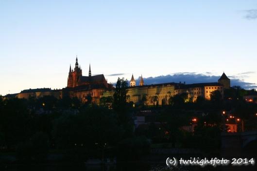 Prag - Karlsburg am Abend