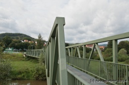 Fußgängerbrücke über die Fulda
