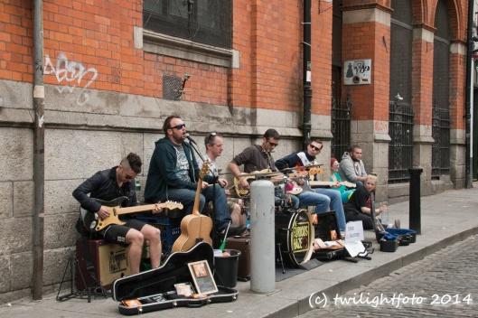 Musikanten in Dublin