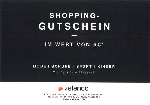 Shopping-Gutschein