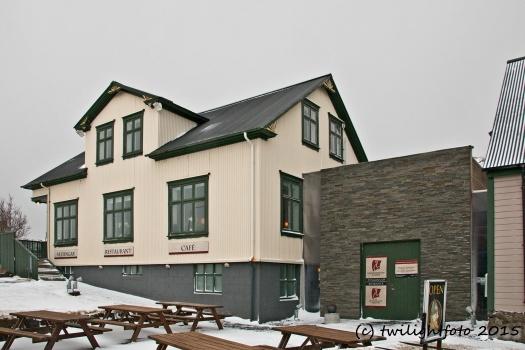 Borganes - Cafe und Museum