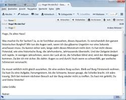 Mail an Hugo