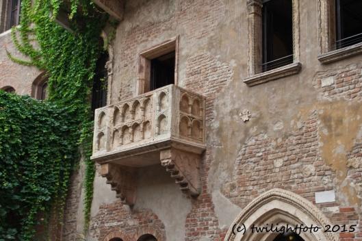 Verona - Balkon von Julia