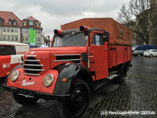 Altes Feuerwehrfahrzeug