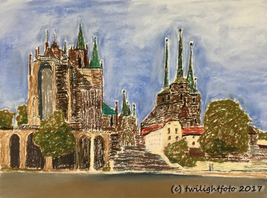 Erfurt - Mariendom und Severikirche