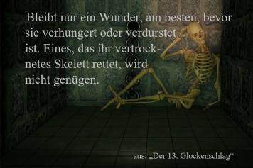 """Textschnipsel """"Der 13. Glockenschlag"""""""