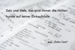"""Textschnipsel aus """"Zehn Cent"""""""